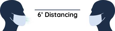 6ft Social Distancing