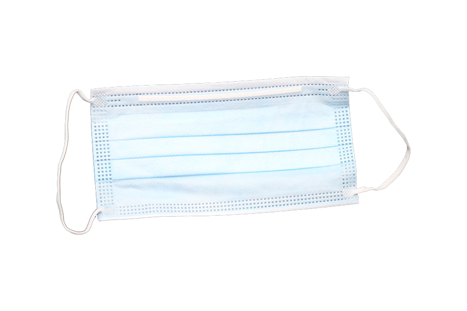3-Ply Disposable Adult Facemask