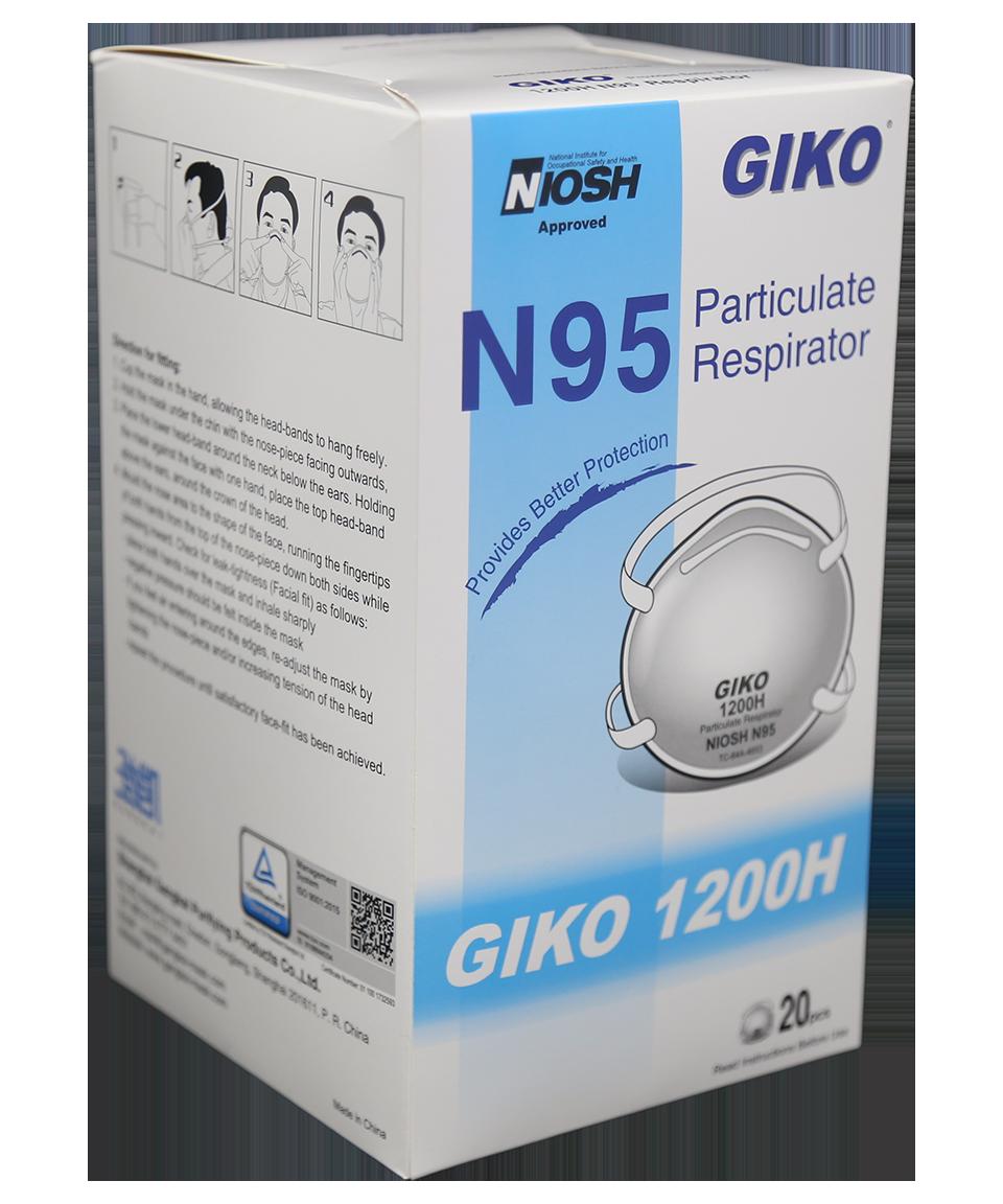 GIKO 1200H N95 Product Box